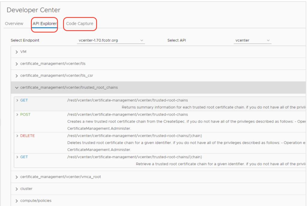 certificate API