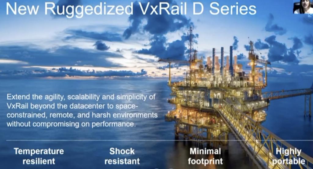 DellEMC announced the futur of VxRAIL