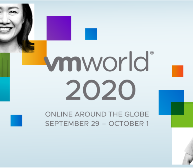 VMworld 2020 Day-1 Recap
