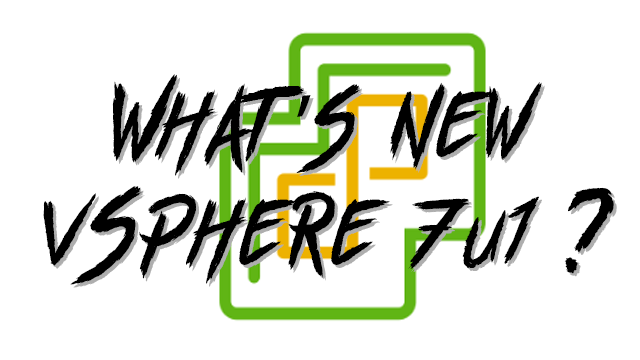 What's new with vSphere 7u1